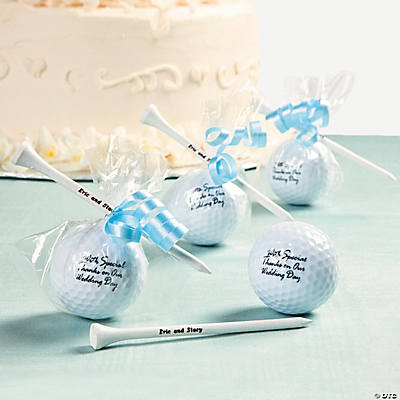 Golf Ball Favors Idea