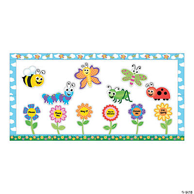 Good Manners Mini Bulletin Board Set