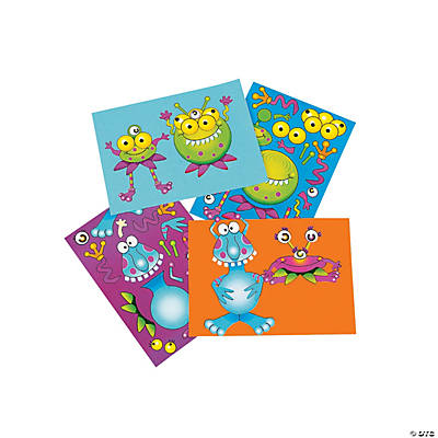 Goofy Monster Stickers