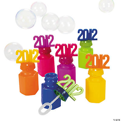 """2012"" Graduation Bubble Bottles"