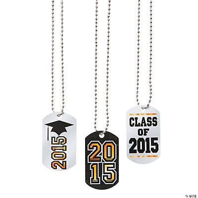 graduation dog tag necklaces trading discontinued