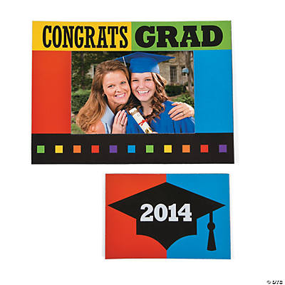 2014 Graduation Magnetic Picture Frame