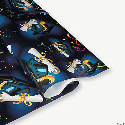 Graduation Print Wrapping Paper
