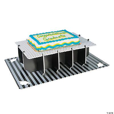 Sheet Cake Stand Graduation Sheet Cake Stand