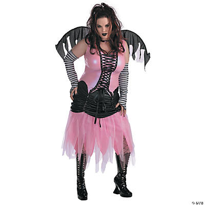 Graveyard Fairy Plus Size Cost Costume for Women