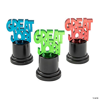 """Great Job"" Award Trophies"