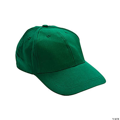 green baseball caps trading