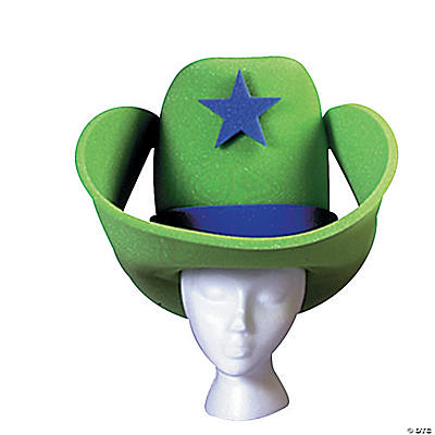 Green 40 Gallon Hat