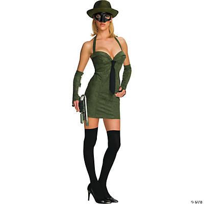 Green Hornet™ Sassy Adult Women's Costume
