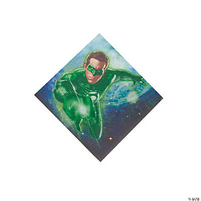 Green Lantern™ Beverage Napkins