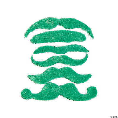 Green Mustache Assortment