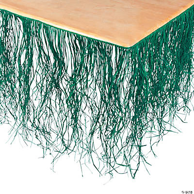 Green Table Skirt