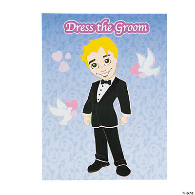 Groom Sticker Scenes