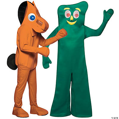 Gumby And Pokey Costume Gumby Pokey Adult Couple