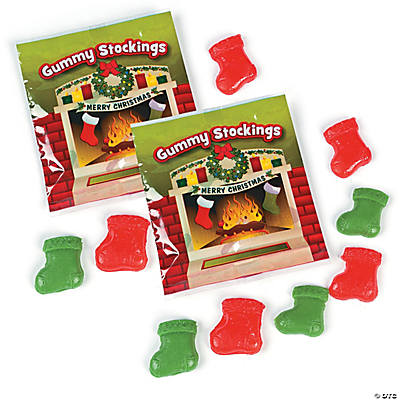 Gummy Stockings Candy Fun Packs
