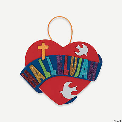 """Hallelujah"" Sign Craft Kit"
