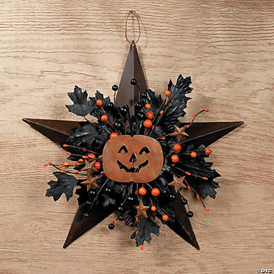 Halloween Barn Star