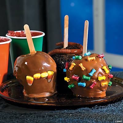 Halloween caramel apple recipe for Caramel apple recipes for halloween
