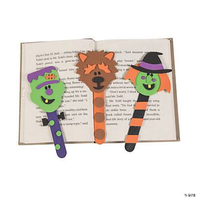 Halloween Character Bookmark Craft Kit