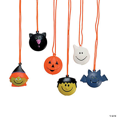 Halloween Character Necklaces