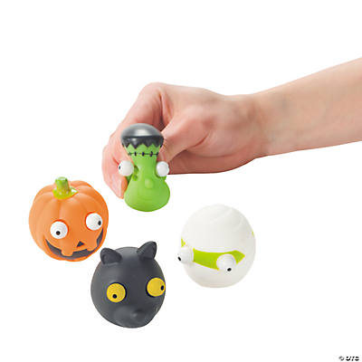 Halloween Characters with Pop-Out Eyes
