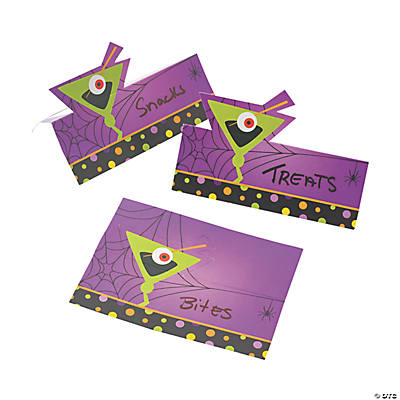 Halloween Cocktail Place Cards