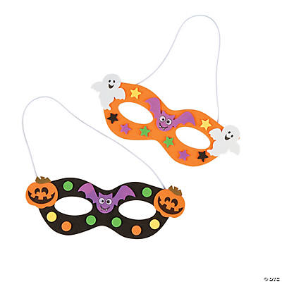 Halloween Foam Mask Craft Kit