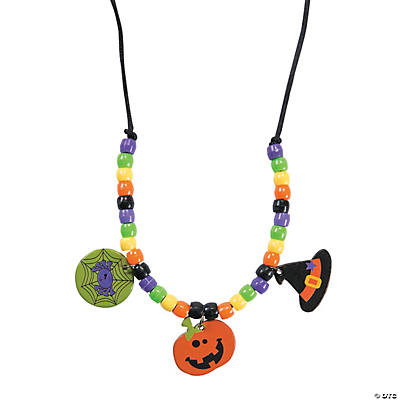 Halloween Friends Necklace Craft Kit