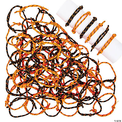 Halloween Friendship Rope Bracelets