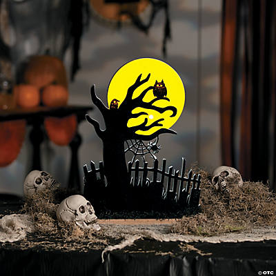 Halloween Haunted Tree Decoration