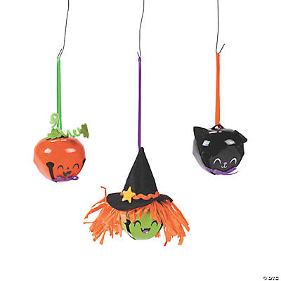 Halloween Jingle Bell Ornament Craft Kit