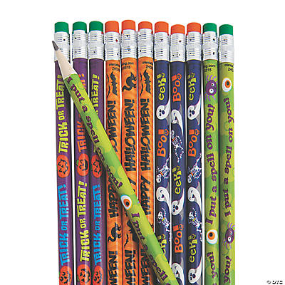 Halloween Pencil Assortment