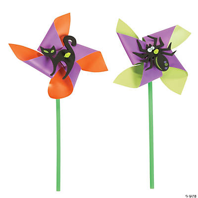 Halloween Pinwheel Craft Kit
