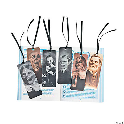Halloween Portrait Lenticular Bookmarks