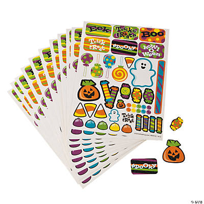 Halloween Prism Sticker Sheet