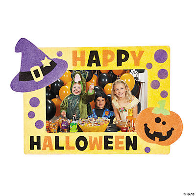 Halloween Sand Art Picture Frames