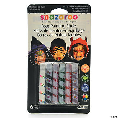 Halloween Snaz Face Painting Sticks Sets