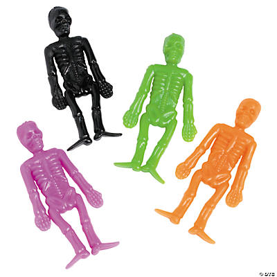 Halloween Stretch Skeletons