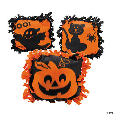 Halloween Tied Pillow Craft Kit