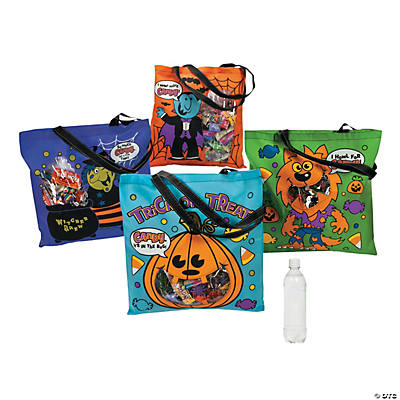 Halloween Tote Bags with Fill Line