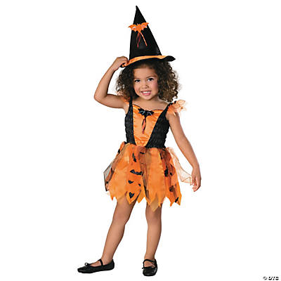 Halloween Witch Toddler Girl's Costume