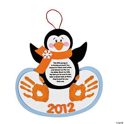 Handprint Penguin Keepsake Craft Kit