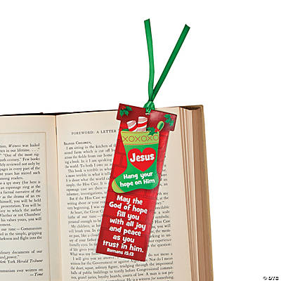 """Hang Your Hope on Him"" Bookmarks"