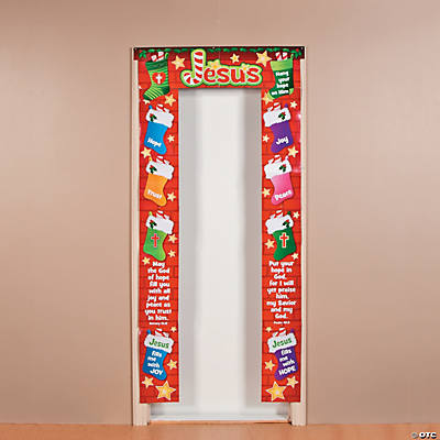 """Hang Your Hope on Him"" Door Border"