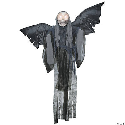 Hanging Talking Grim Reaper with Wings