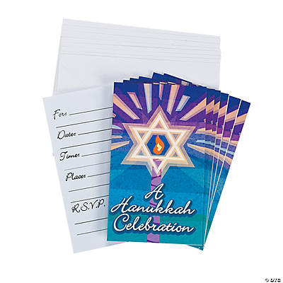 Hanukkah Invitations