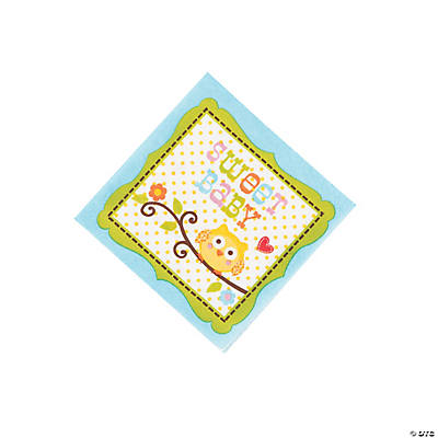 Happi Tree Sweet Baby Boy Beverage Napkins