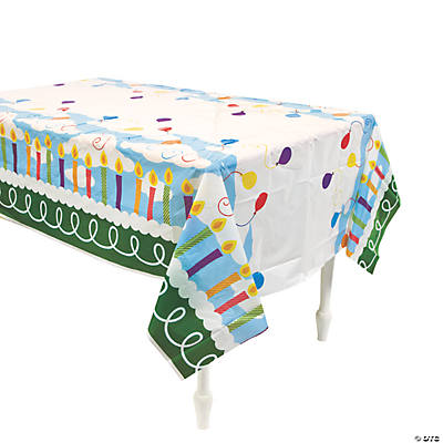 """Happy Birthday"" Tablecloth"