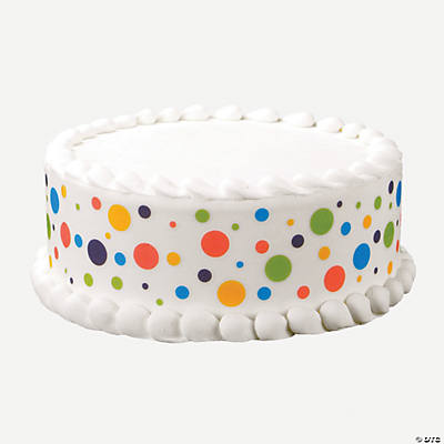 Cake Decorating Dots : Happy Dots Edible Images  Cake Decoration Set - Oriental ...