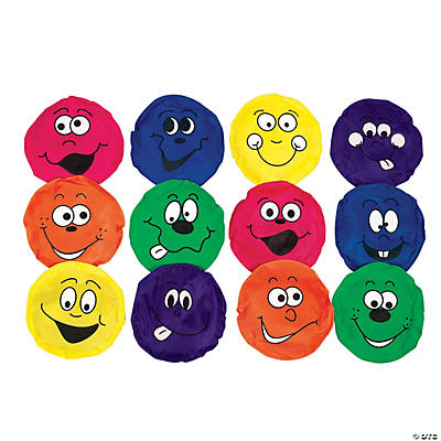 Happy Face Nylon Bean Bags